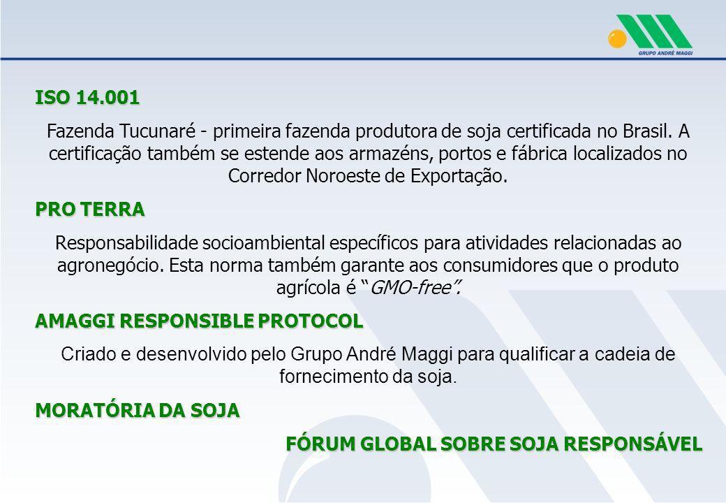 RESPONSABILIDADE SOCIOAMBIENTAL NA CADEIA PRODUTIVA DE FORNECIMENTO DA SOJA Práticas de sustentabilidade, questões ambientais, trabalhistas e sociais devem ser também preocupação daqueles que integram nossa cadeia produtiva.