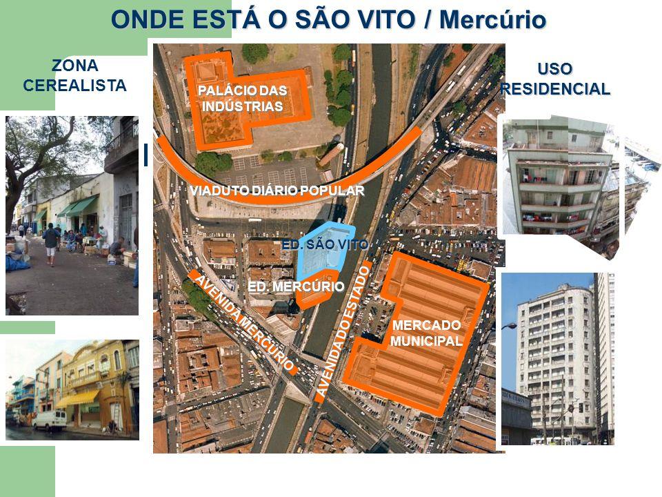 Sobre o edifício São Vito e Mercúrio Construídos em 1959, pela Construtora Zarzur & Kogan Ltda.