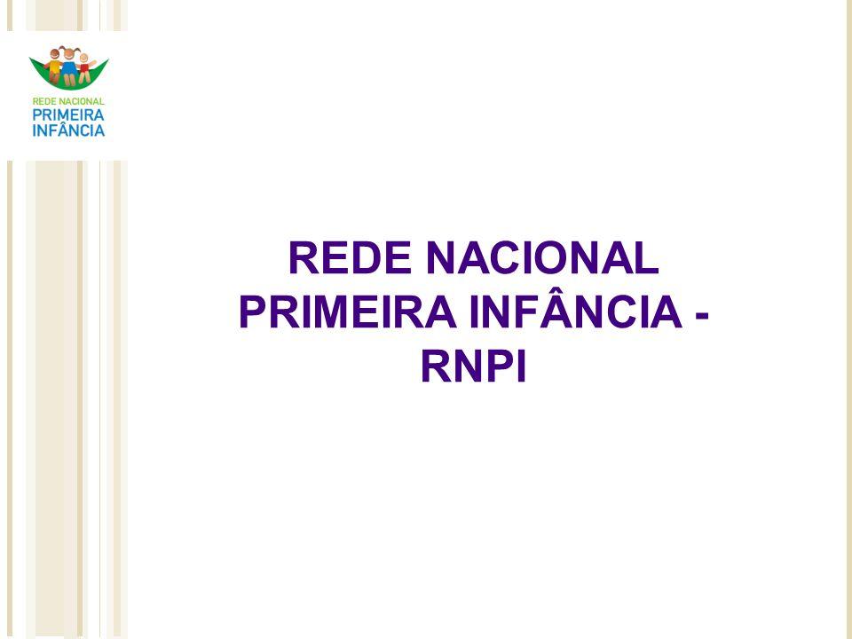 Percurso Comitê Primeira Infância, na Presidência da República - 2002 Idéia de sua recriação sob a forma de Núcleo de Atenção à Primeira Infância – NAPI, em 2006 Rede Nacional Primeira Infância – RNPI – 2007 Início com 17 Organizações.