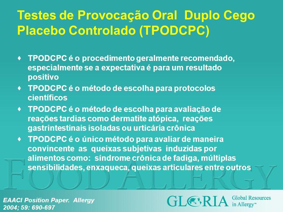 TPODCPC é o procedimento geralmente recomendado, especialmente se a expectativa é para um resultado positivo TPODCPC é o método de escolha para protoc