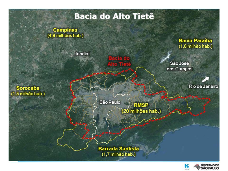 Fornecimento de Água de Reúso via rede para indústrias localizadas no raio de 6 Km da ETE.