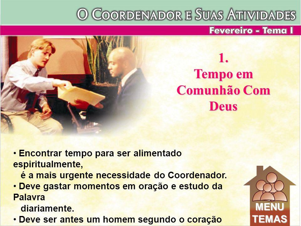 6.Apresentação dos líderes e seus PGs - Coordenador apresenta o líder e este seu PG 7.Testemunhos - Reavivamento, Batismo, Oração 8.Batismos - Líder dentro do tanque, membros próximo.