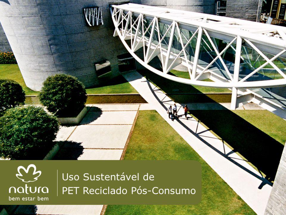 Uso Sustentável de PET Reciclado Pós-Consumo