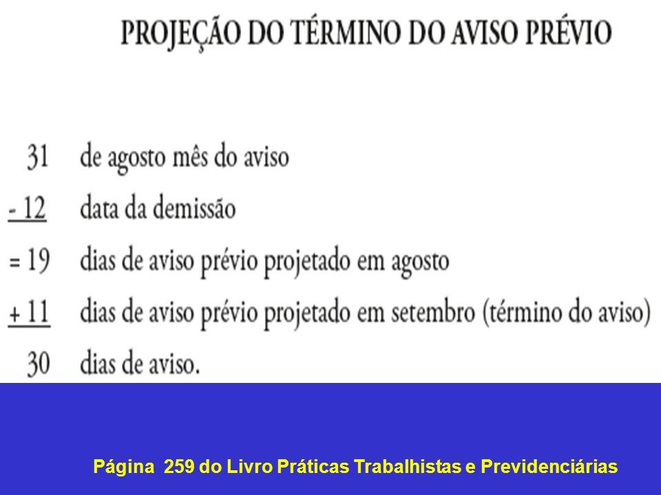 Página 259 do Livro Práticas Trabalhistas e Previdenciárias