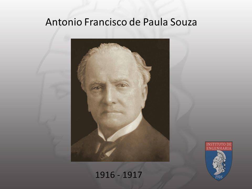 Antonio Francisco de Paula Souza 1916 - 1917