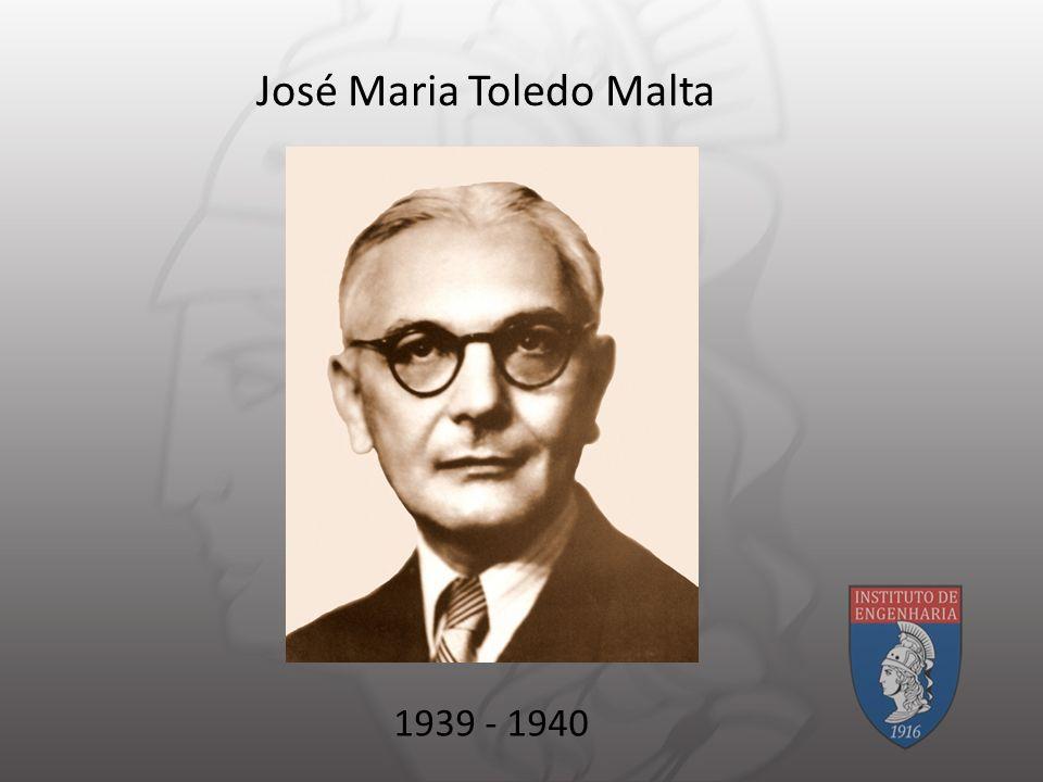 José Maria Toledo Malta 1939 - 1940