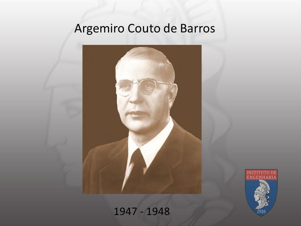 Argemiro Couto de Barros 1947 - 1948