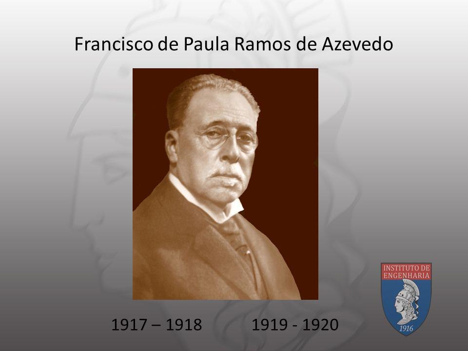 Francisco de Paula Ramos de Azevedo 1917 – 19181919 - 1920