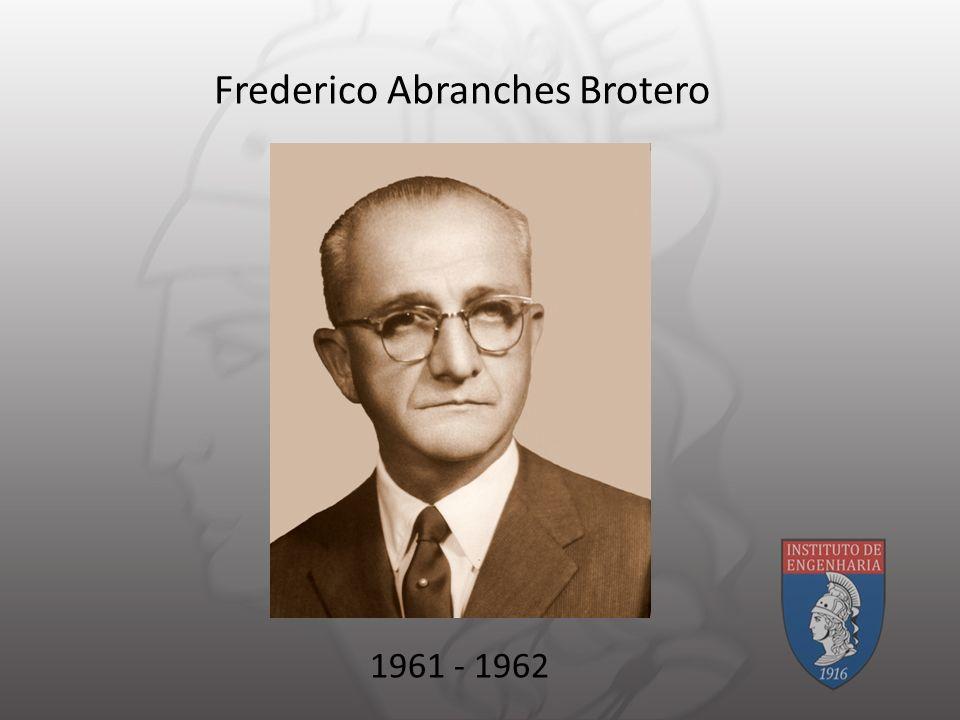 Frederico Abranches Brotero 1961 - 1962