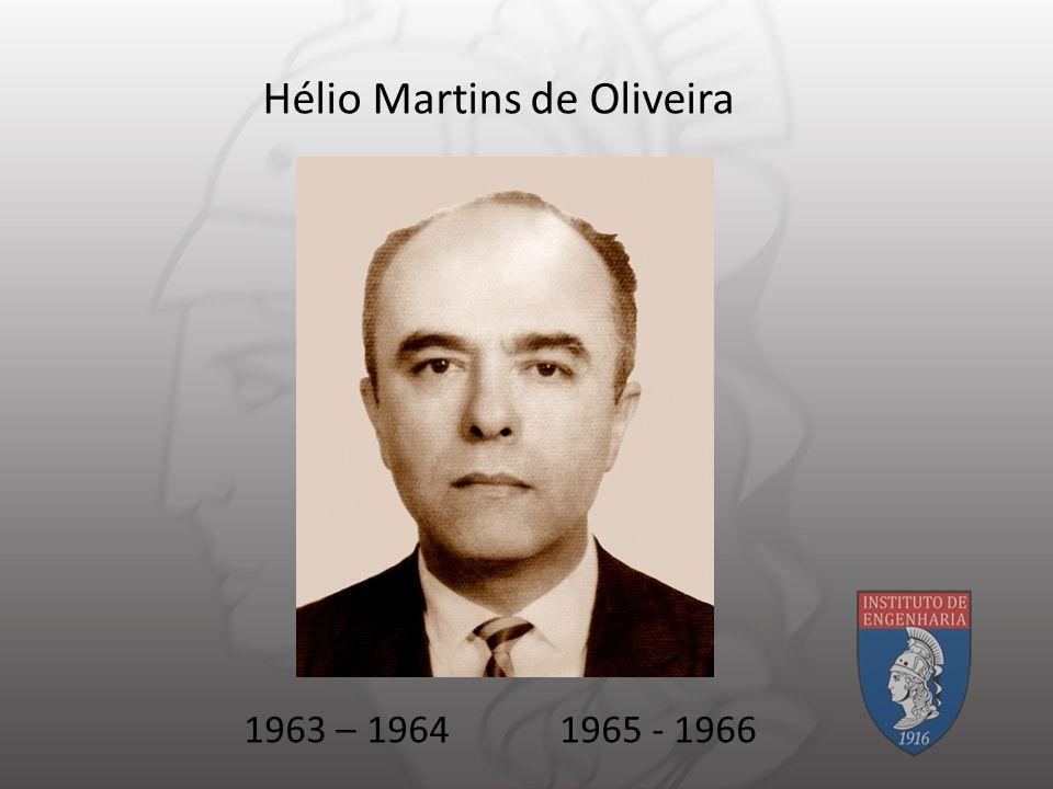 Hélio Martins de Oliveira 1963 – 19641965 - 1966
