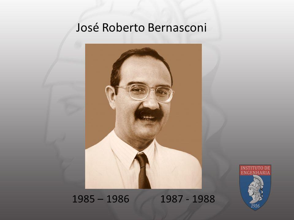 José Roberto Bernasconi 1985 – 19861987 - 1988