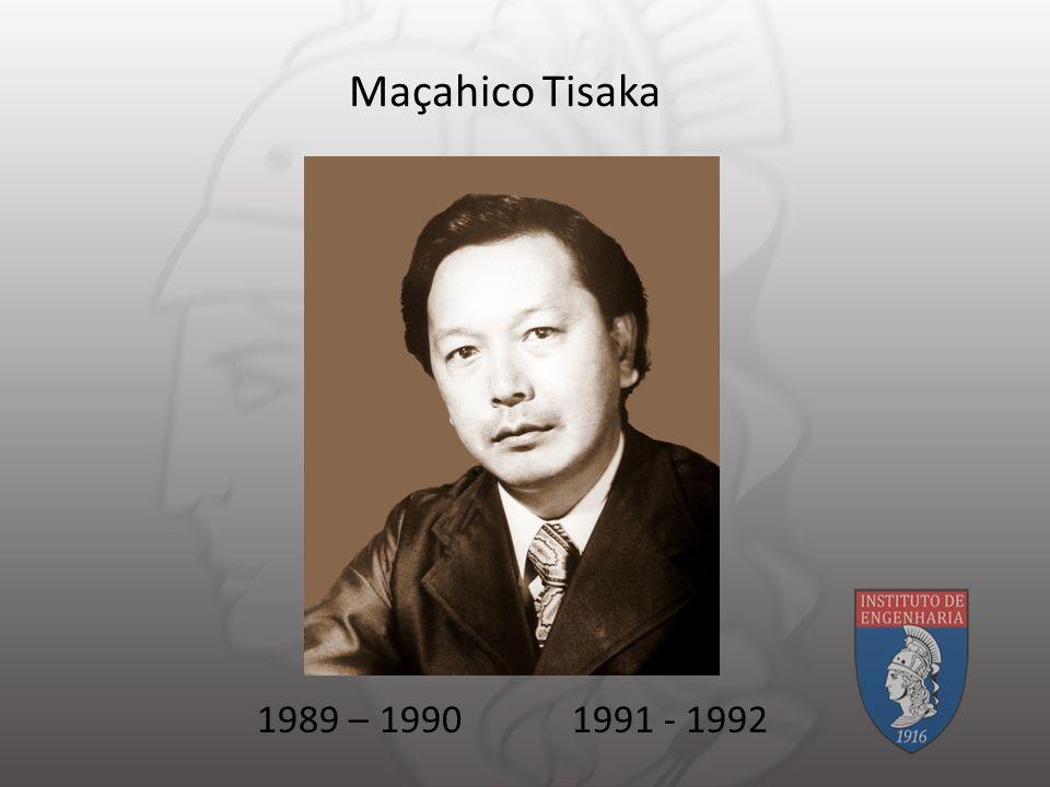 Maçahico Tisaka 1989 – 19901991 - 1992