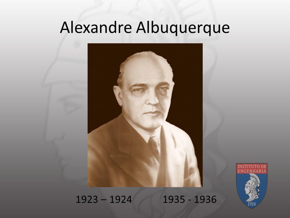Alexandre Albuquerque 1923 – 19241935 - 1936