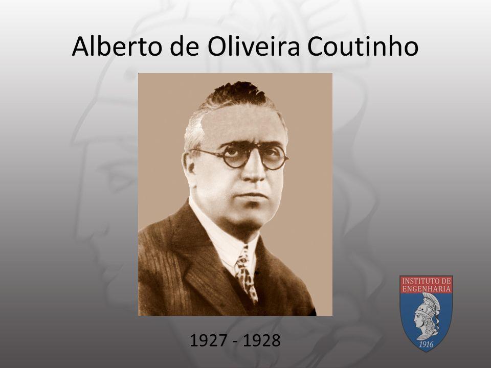 Alberto de Oliveira Coutinho 1927 - 1928