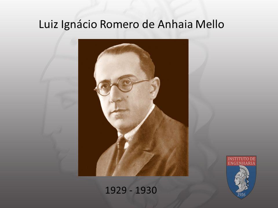 Luiz Ignácio Romero de Anhaia Mello 1929 - 1930
