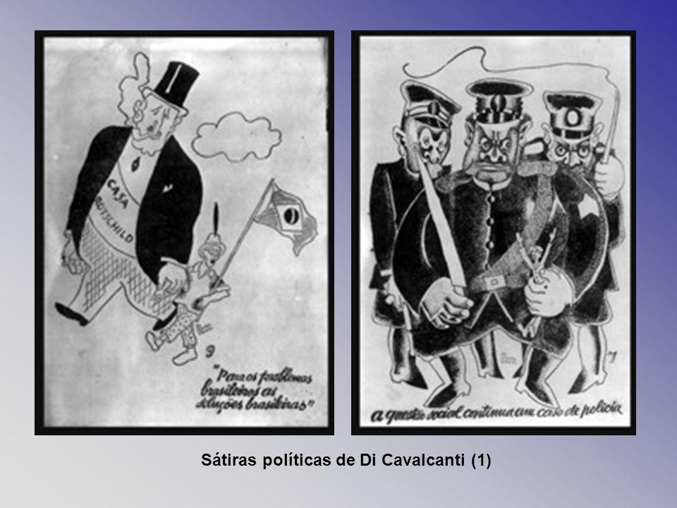 Sátiras políticas de Di Cavalcanti (1)