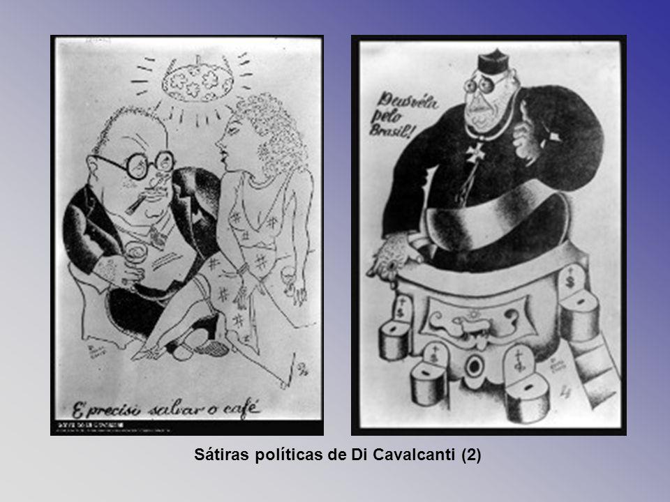 Sátiras políticas de Di Cavalcanti (2)