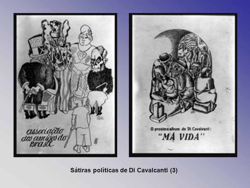 Sátiras políticas de Di Cavalcanti (3)
