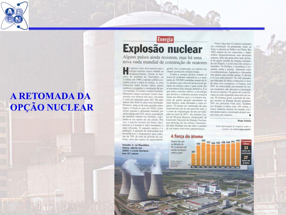 37 A RETOMADA DA OPÇÃO NUCLEAR