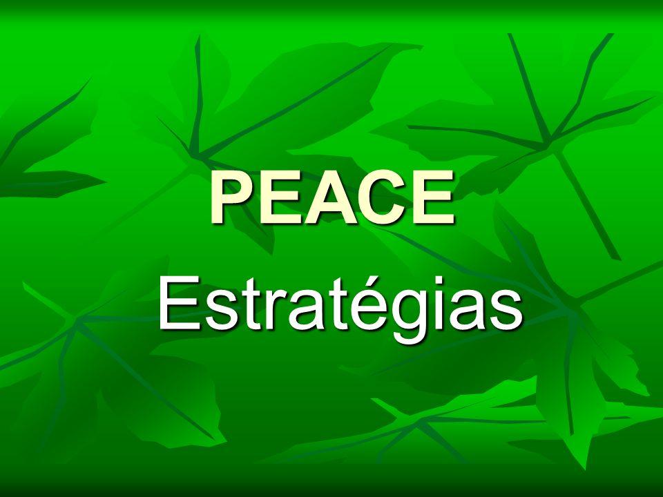 PEACE Estratégias