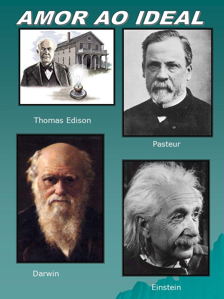 Thomas Edison Pasteur Darwin Einstein