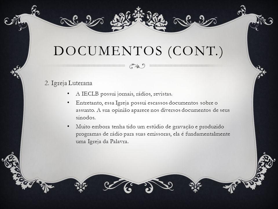 DOCUMENTOS (CONT.) 3.