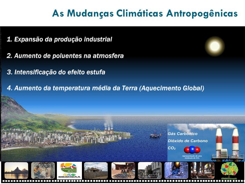 As Mudanças Climáticas Antropogênicas
