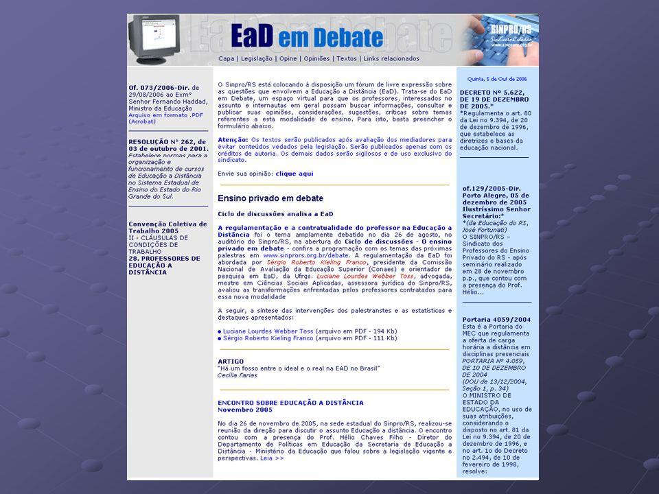 - Convenção Coletiva de Trabalho Sinpro/RS – Sinepe/RS 2006