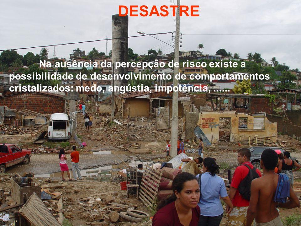 SENSIBILIZAÇÃO CONSCIENTIZAÇÃO MOBILIZAÇÃO CONSTRUÇÃO DE ALTERNATIVAS PARA A CONVIVÊNCIA COM RISCO CONHECIMENTO DO RISCO VIVÊNCIA Núcleos Comunitários de Defesa Civil: Uma proposta de inclusão social