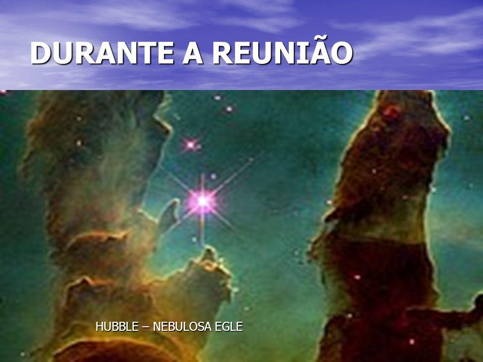 34 DURANTE A REUNIÃO HUBBLE – NEBULOSA EGLE