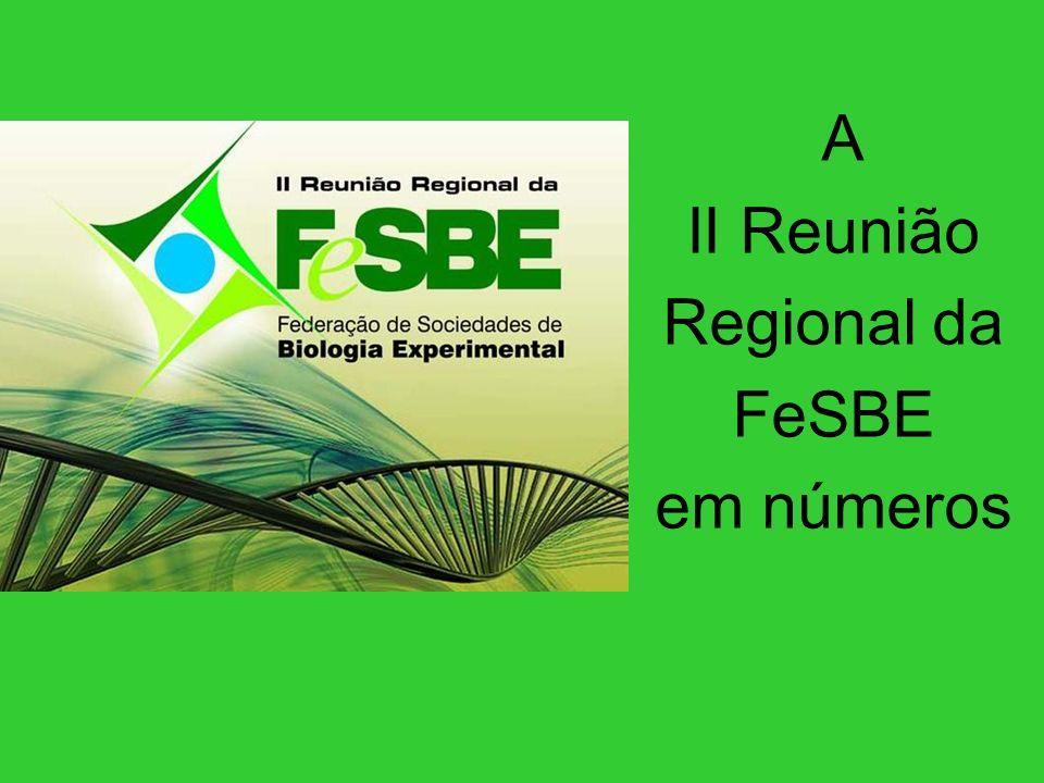 A II Reunião Regional da FeSBE em números