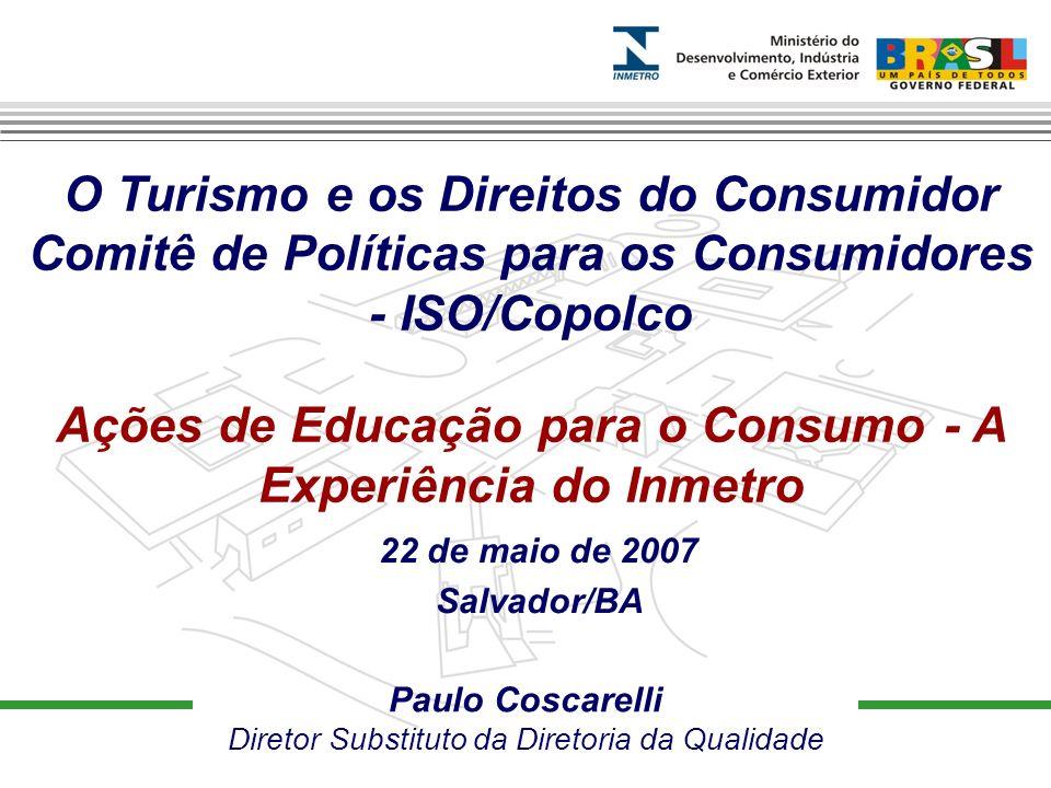 Prover confiança à sociedade brasileira nas medições e nos produtos, através da metrologia e da avaliação da conformidade, promovendo a harmonização das relações de consumo, a inovação e a competitividade.