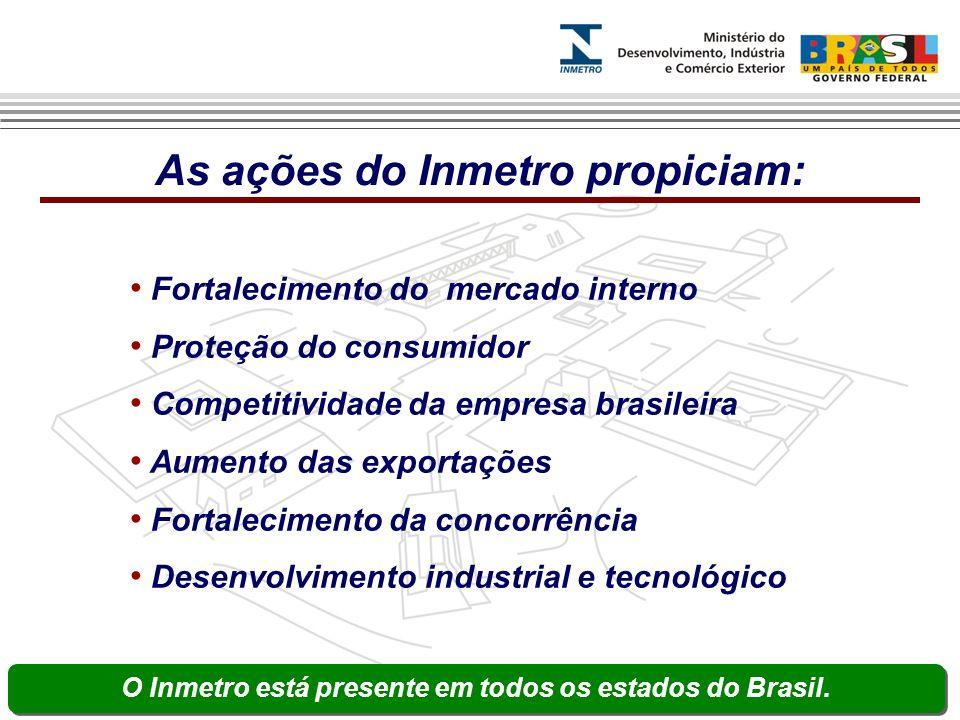 Fortalecimento do mercado interno Proteção do consumidor Competitividade da empresa brasileira Aumento das exportações Fortalecimento da concorrência