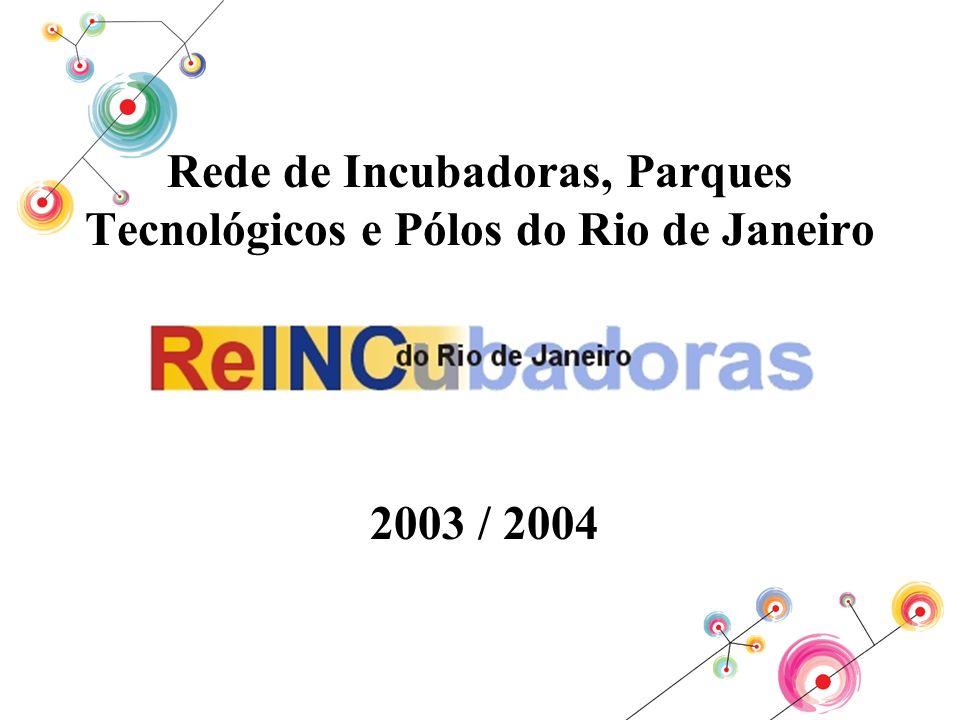 Rede de Incubadoras, Parques Tecnológicos e Pólos do Rio de Janeiro 2003 / 2004