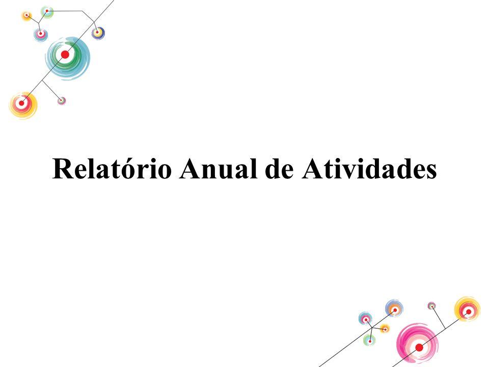 Relatório Anual de Atividades