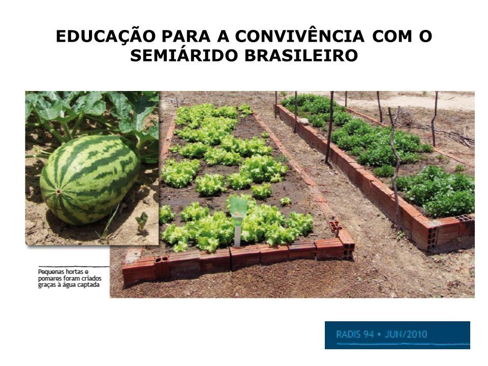EDUCAÇÃO PARA A CONVIVÊNCIA COM O SEMIÁRIDO BRASILEIRO