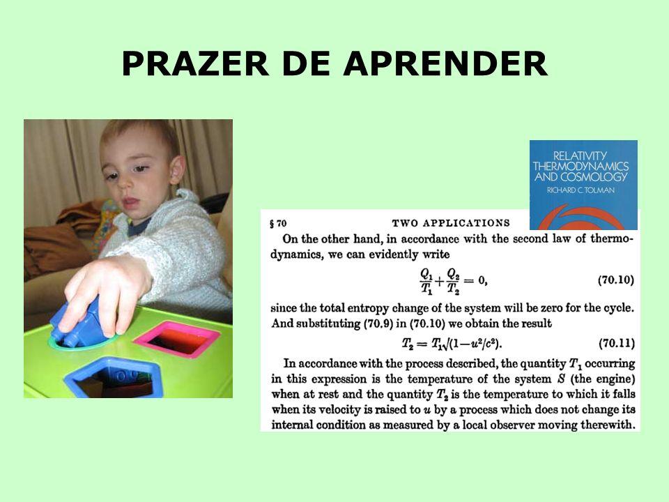 PRAZER DE APRENDER