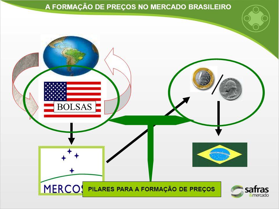A FORMAÇÃO DE PREÇOS NO MERCADO BRASILEIRO BOLSAS PILARES PARA A FORMAÇÃO DE PREÇOS