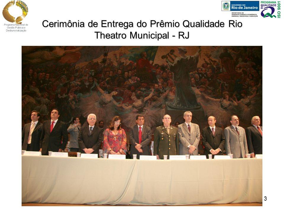 3 Cerimônia de Entrega do Prêmio Qualidade Rio Theatro Municipal - RJ