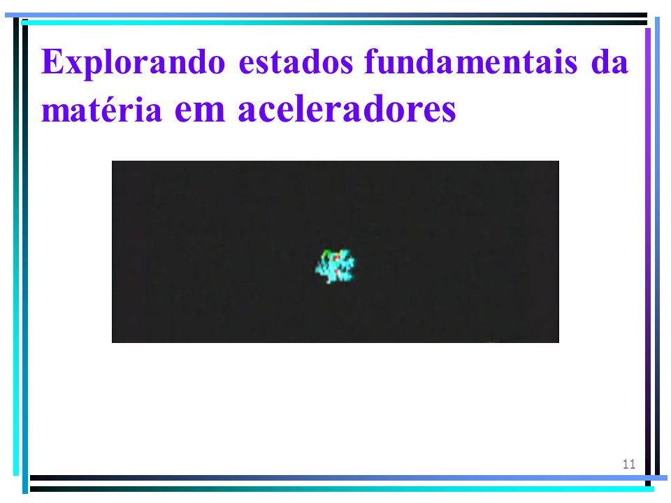 11 Explorando estados fundamentais da matéria em aceleradores