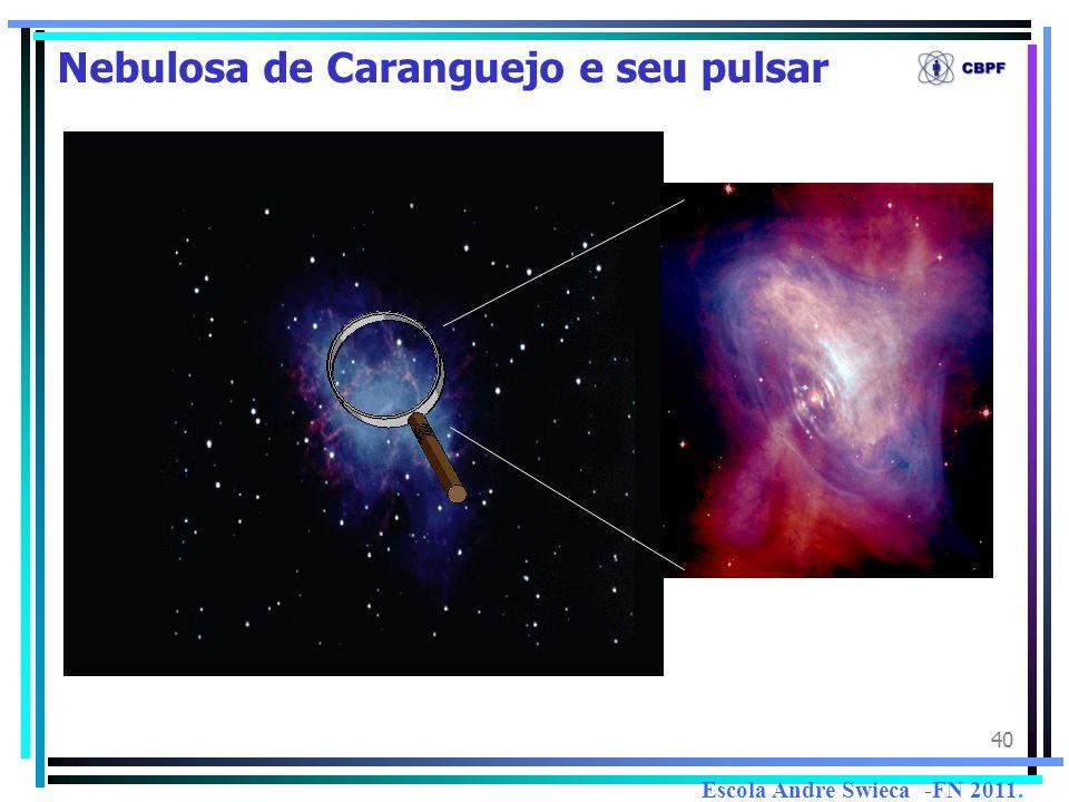 40 Nebulosa de Caranguejo e seu pulsar Escola Andre Swieca -FN 2011.