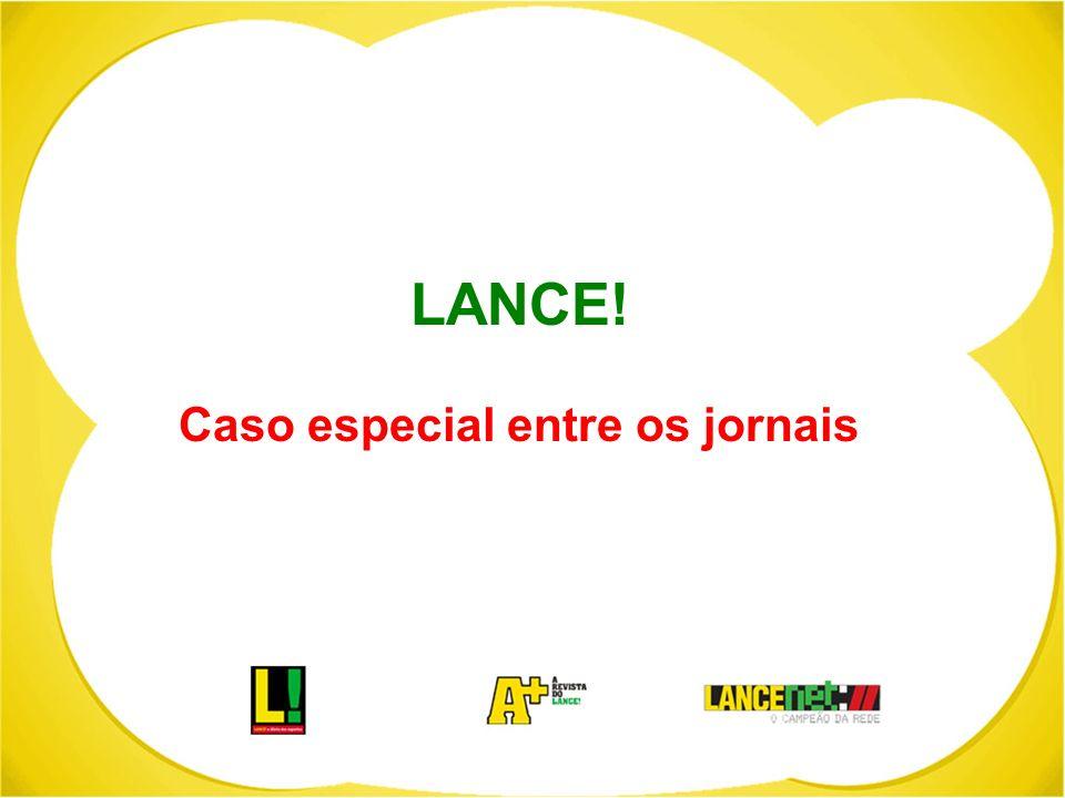 LANCE! Caso especial entre os jornais