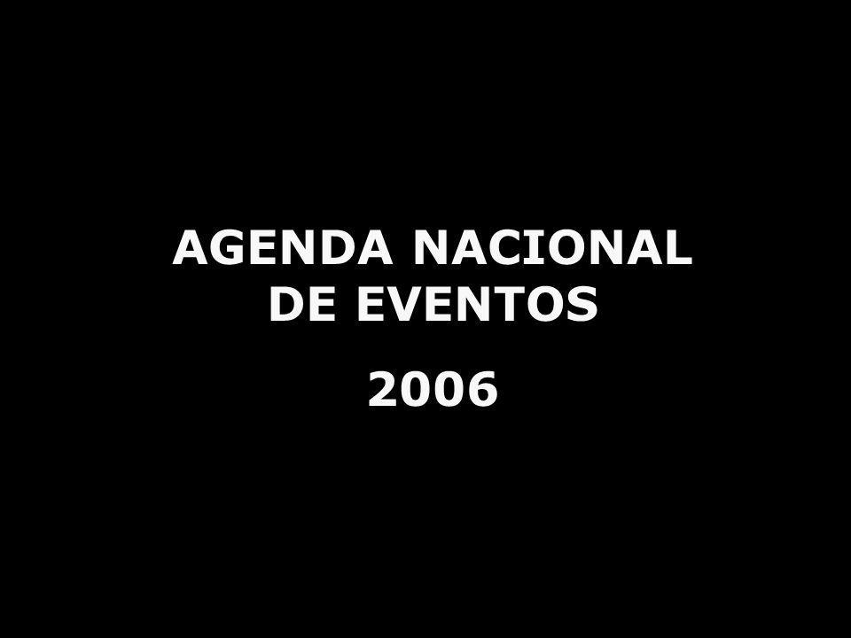AGENDA NACIONAL DE EVENTOS 2006
