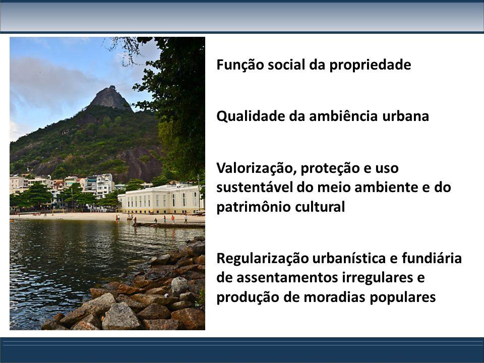 COE – Estrutura do Projeto de Lei Cap.IV – Passeios e Logradouros Públicos Cap.