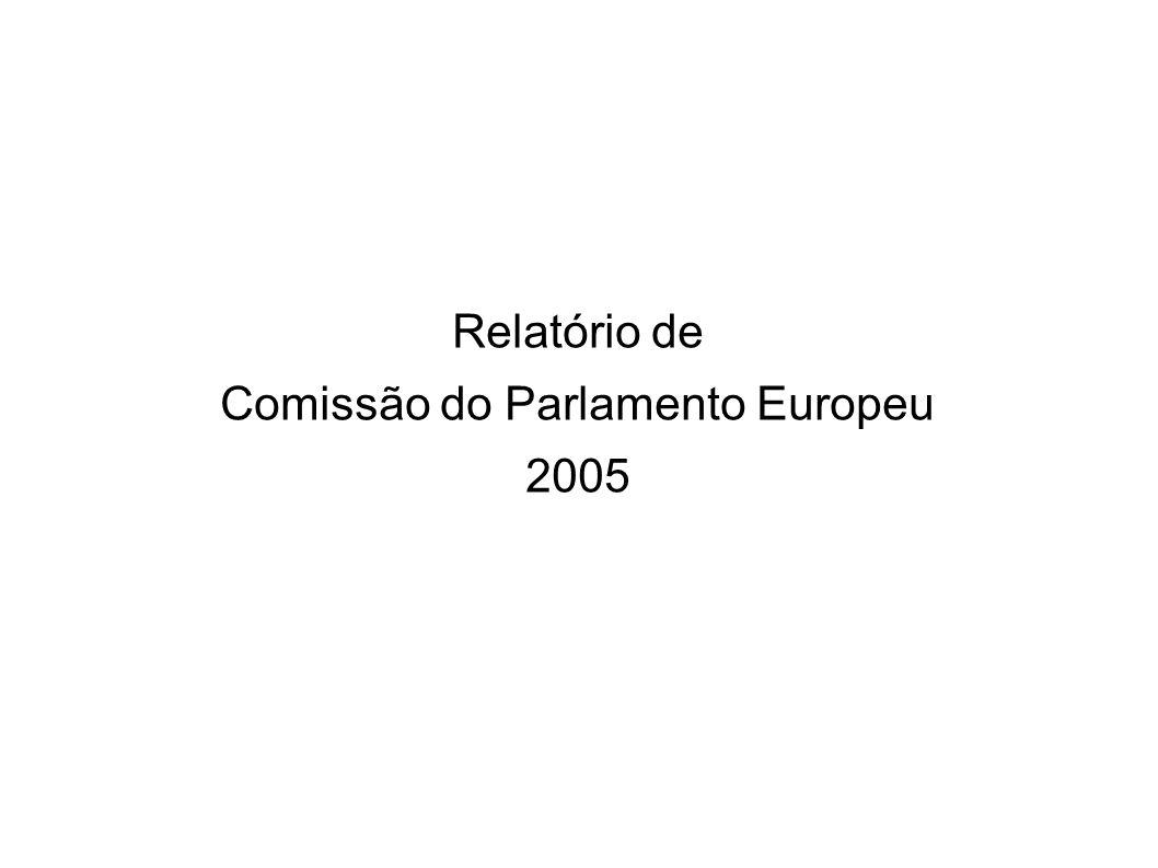 Relatório de Comissão do Parlamento Europeu 2005