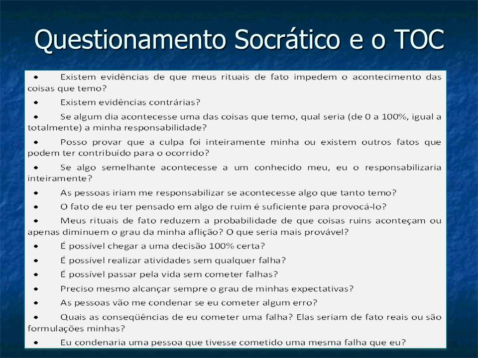 Questionamento Socrático e o TOC