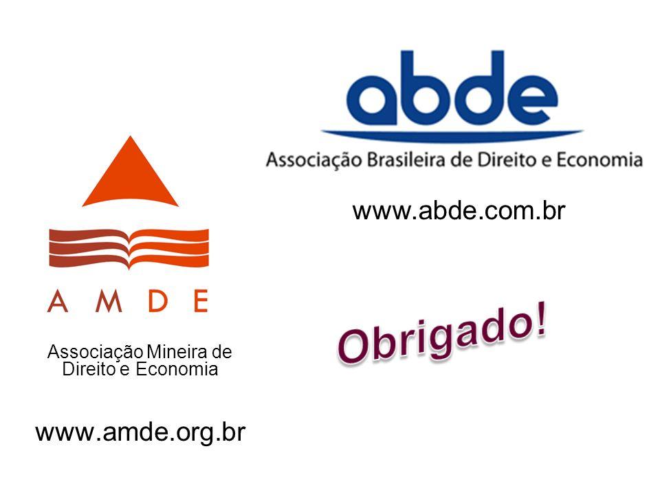 Associação Mineira de Direito e Economia www.amde.org.br www.abde.com.br