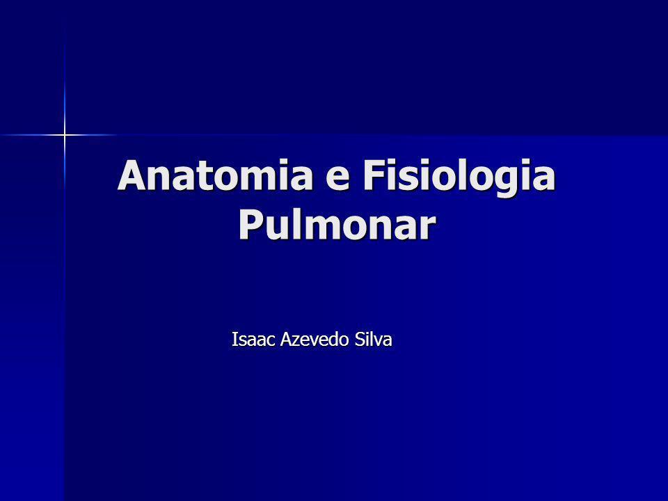 Anatomia e Fisiologia Pulmonar Isaac Azevedo Silva