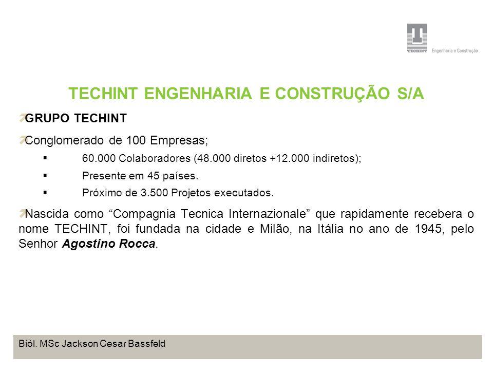 Projeto Base OffShore de Pontal do Paraná Coordenação de Meio Ambiente TEBRA I WORKSHOP PLANOS DE TRABALHO Biól. MSc Jackson Cesar Bassfeld TECHINT EN