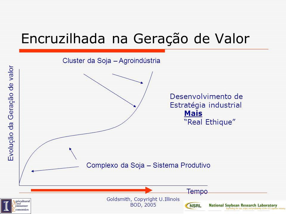 Goldsmith, Copyright U.Illinois BOD, 2005 Cluster Econômica da produção de Soja: Mato Grosso